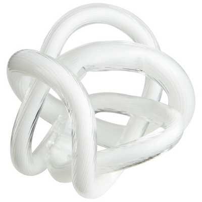 Interlace Sculpture, small - Wayfair
