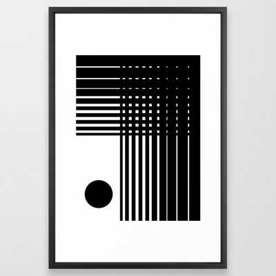 Abstract Composition 13 - Vector Black - Society6