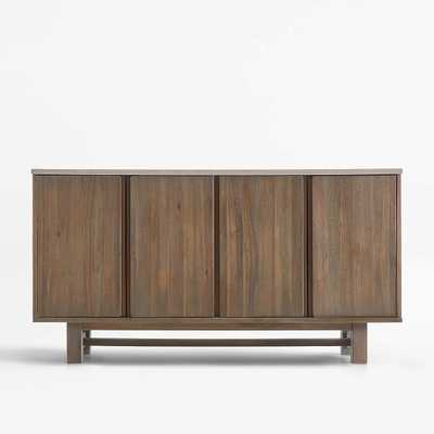 Caicos Cement Top Sideboard - Crate and Barrel