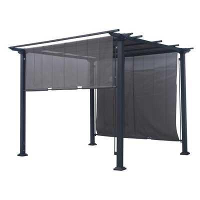 10 ft. x 10 ft. Square Pergola - Home Depot
