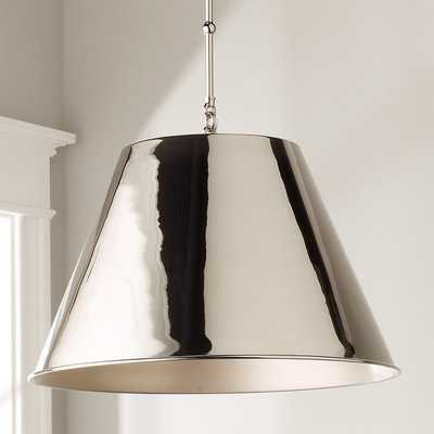 MODERN METAL SHADE PENDANT - Shades of Light