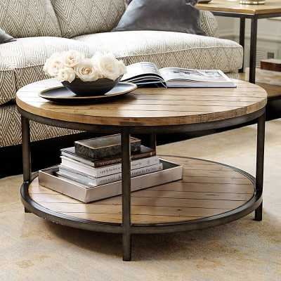 Ballard Designs Durham Round Coffee Table - Ballard Designs
