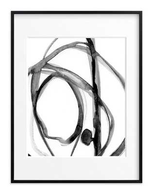 """Plant Cell 2 Art Print - 30"""" x 40"""", Rich Black Wood Frame, Matted - Minted"""