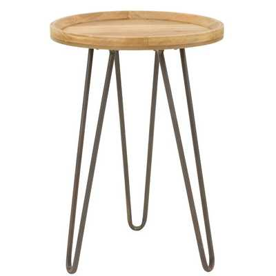 Arocha Round Accent Table - Wayfair
