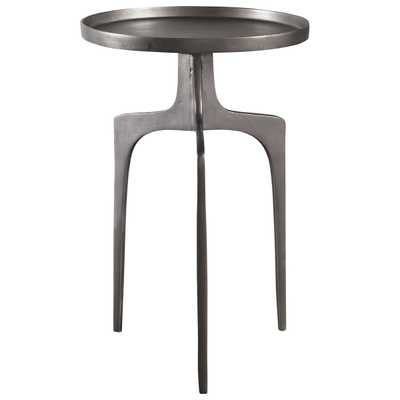 Kenna Nickel Accent Table - Hudsonhill Foundry