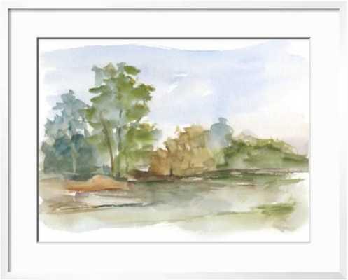 "Impressionist Watercolor III - chelsea white frame - 32x24"" - art.com"
