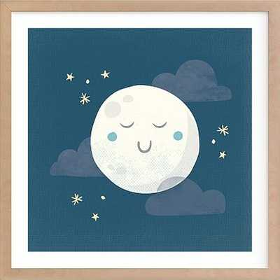 Goodnight Moon Wall Art by Minted(R) 24x24, Natural - Pottery Barn Kids