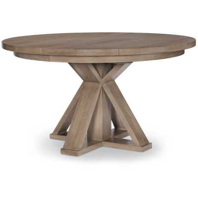 Midville Complete Round Extendable Dining Table - Wayfair