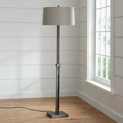 Denley Bronze Floor Lamp - Crate and Barrel