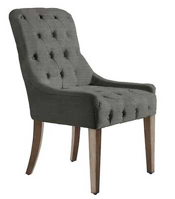 Jen Dining Chair - Natural Grey - Z Gallerie
