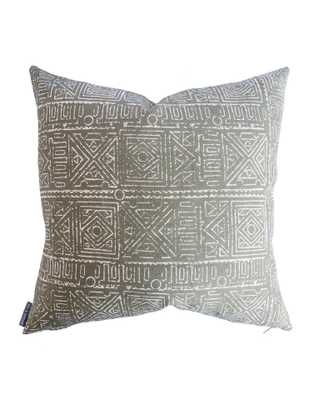 """ELIZA PILLOW WITHOUT INSERT, 20"""" x 20"""" - McGee & Co."""