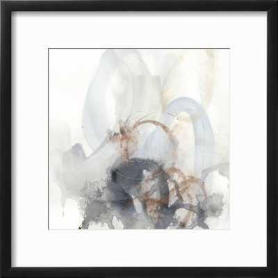 "Supposition II - Chelsea Black Frame -12"" x 12"" -  3.0"" Crisp - Bright White Mat - Acrylic: Clear - art.com"