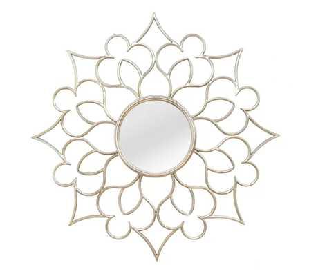 Francesca Accent Wall Mirror - Wayfair