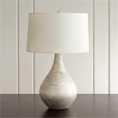Mulino Teardrop Table Lamp-Single - Crate and Barrel