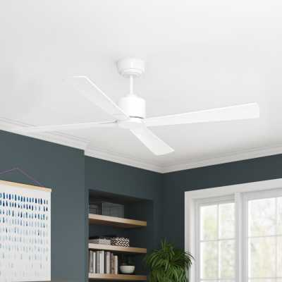 """52"""" Sheilds 4 Blade Ceiling Fan with Remote - Wayfair"""