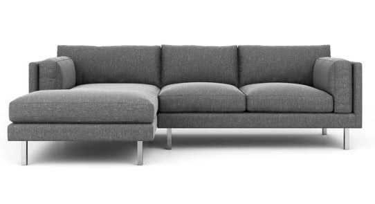 Skinny Fat Sofa With Chaise - Benchmademodern.com