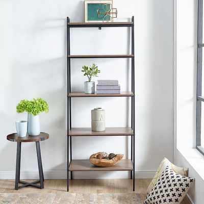 Urban Industrial Ladder Bookcase by Manor Park - Hayneedle
