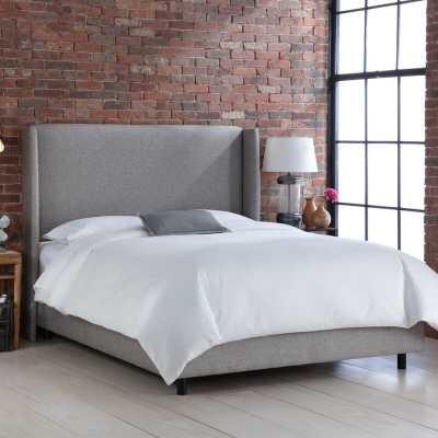 Goodrich Velvet Upholstered Standard Bed - AllModern