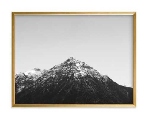 The Peak - gold frame - Minted