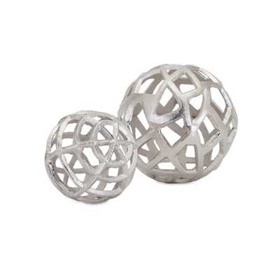 TY Outer Banks Spheres - Set of 2 - Mercer Collection