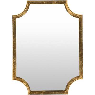 Koud 40 in. x 29.75 in. MDF Framed Mirror - Home Depot