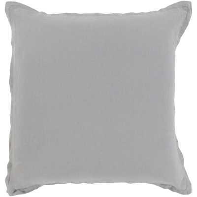 "Strathmore Throw Pillow - 22"" x 22""  - Light Gray - Wayfair"