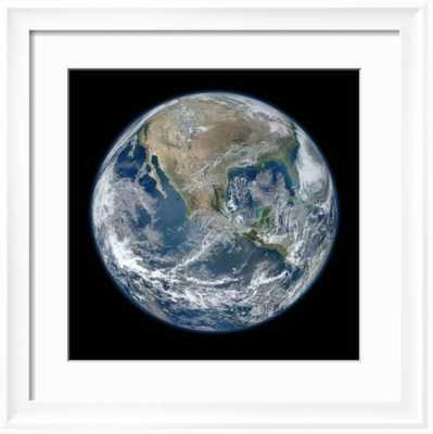 "Earth Taken From Suomi NPP, NASA's Earth-observing Satellite 24"" x 24"" - art.com"