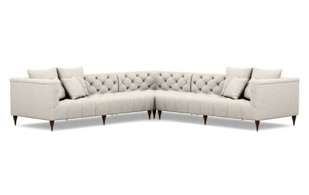 MS. CHESTERFIELD Corner Sectional Sofa - Interior Define