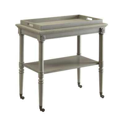 Poulan Tray Bar Cart - Birch Lane