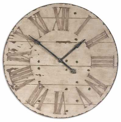 Harrington Wall Clock - Hudsonhill Foundry