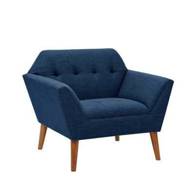 "Belz 38"" W Tufted Polyester Armchair - Wayfair"