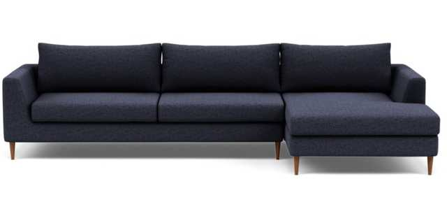 ASHER 2-Seat Sectional Sofa with Right Chaise - Interior Define