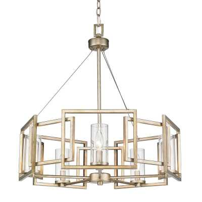 Wightman Shaded Drum Chandelier - Wayfair