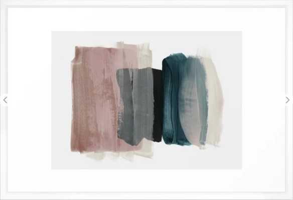 """minimalism 1 - 26"""" x 38"""" - vector white - Society6"""