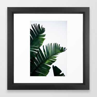 Palm Leaves 16 Framed Art Print - Society6