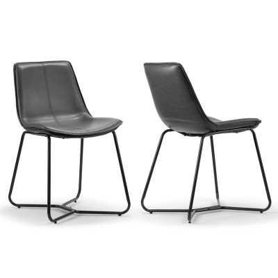 Laureen Upholstered Dining Chair (set of 2) - AllModern