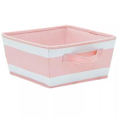 Striped Fabric Toy Storage Bin - Pillowfort™ - Target