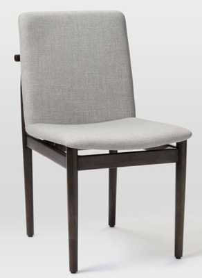 Framework upholstered dining chair - West Elm