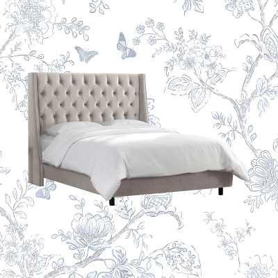 Upholstered Standard Bed - Wayfair