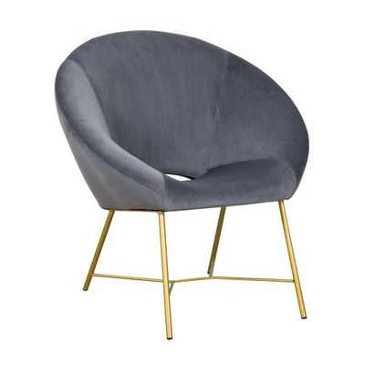 Kamila Morgan Velvet Chair - Maren Home