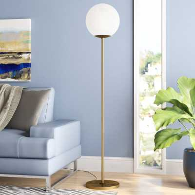 Emory 63 Floor Lamp - Gold - Wayfair