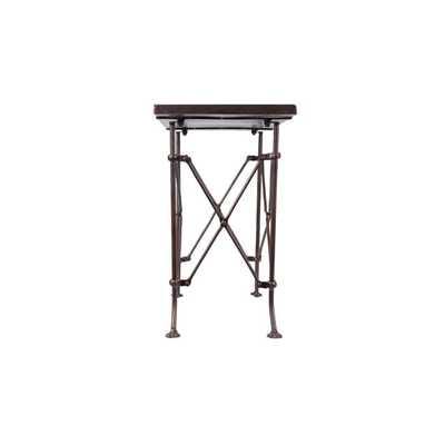 Eugenie Metal Accent Table - Studio Marcette