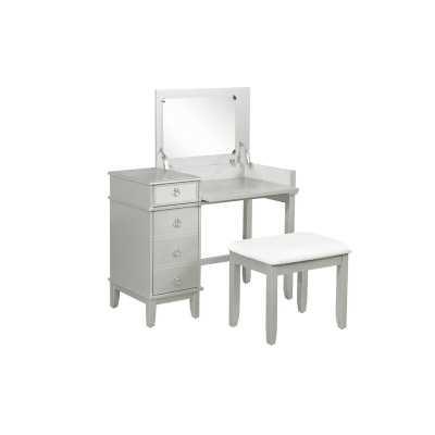 Kemmerer Vanity Set with Mirror - Wayfair