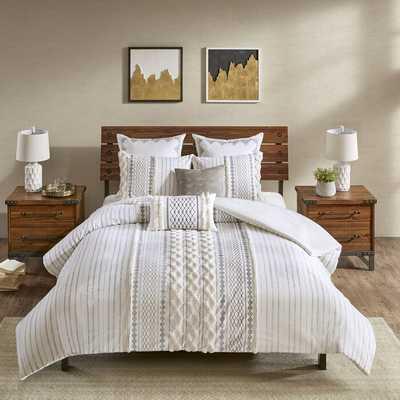 Jenkinsburg 100% Cotton 3 Piece Duvet Cover Set - Wayfair