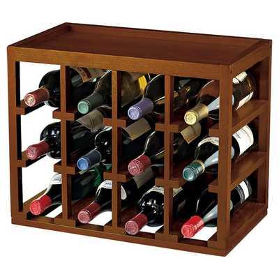 Leopold 12 Bottle Tabletop Wine Rack - Wayfair