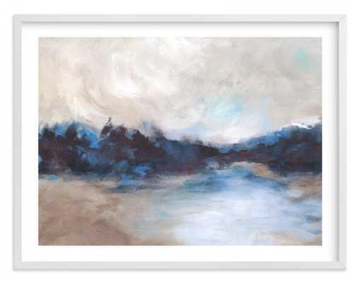 "Saint Mary's Lake / 54"" x 40"" - Minted"