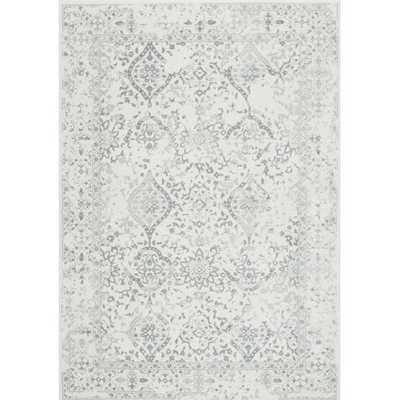 Dorothea Ivory/Gray Area Rug - 8 x 10 - Wayfair