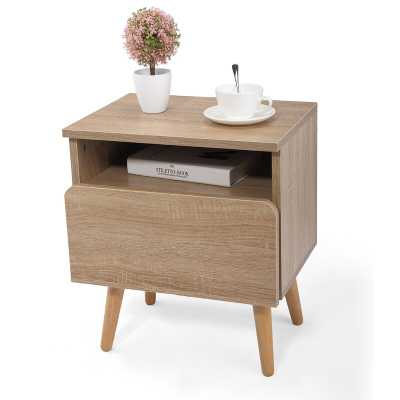 Michale 1 Drawer Nightstand - Wayfair