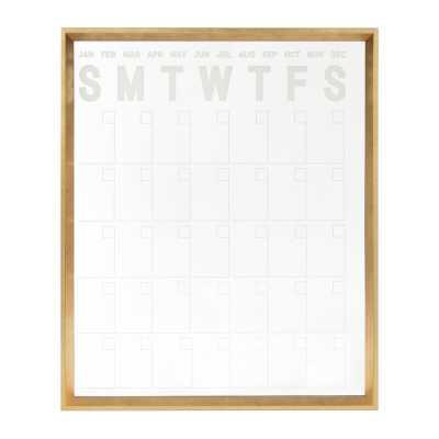 Wall Mounted Calendar Board - Wayfair