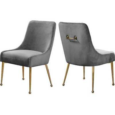 Stovall Velvet Upholstered Dining Chair - Wayfair